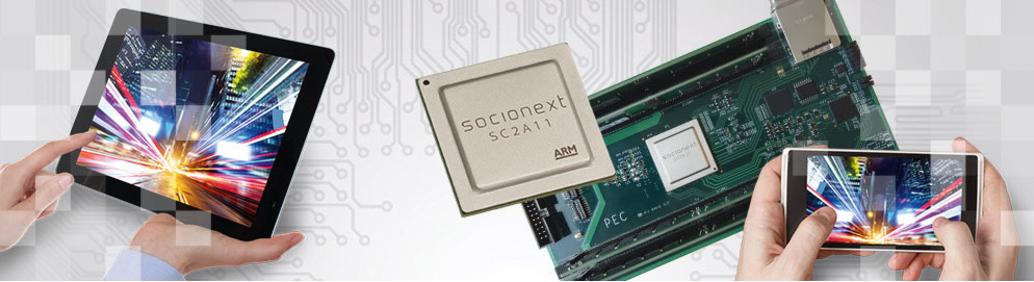 SynQuacer multi-core ARM processor