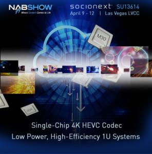 NAB 2018 | SU13614 | Socionext